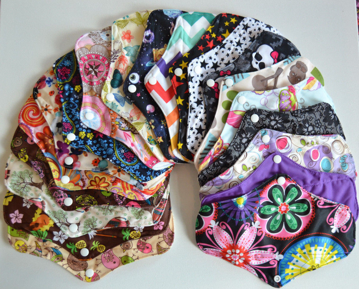 Bamboo Regular Flow Menstrual Pads