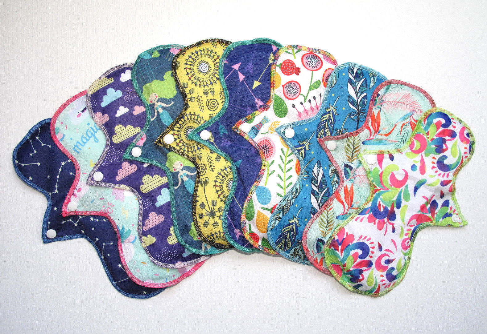Regular Flow Cloth Pad Sets