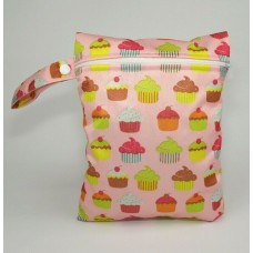 Medium Wet Bag - Cup Cakes