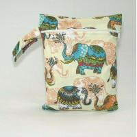 Medium Wet Bag - Elephants