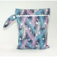 Medium Wet Bag - Feathers