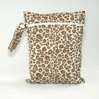 Medium Wet Bag - Leopard Print