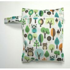 Medium Wet Bag - Owls