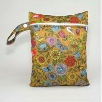 Medium Wet Bag - Vintage Flowers