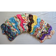 Set of 3 Bamboo Heavy Flow Menstrual Pads