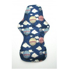 Charcoal Heavy Flow Sanitary Pad - Balloons