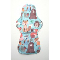 Bamboo Cloth Heavy Flow Sanitary Pad - Forest