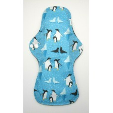 Charcoal Heavy Flow Sanitary Pad - Penguins