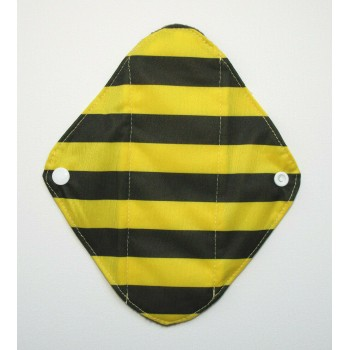 Charcoal Panty Liner / Light Flow Pad - Bumble Bee