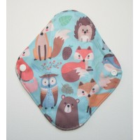 Charcoal Panty Liner / Light Flow Pad - Forest