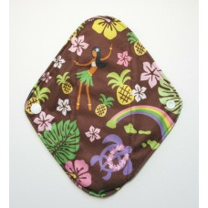 Charcoal Panty Liner / Light Flow Pad - Hula Girl