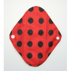 Charcoal Panty Liner / Light Flow Pad - Ladybird