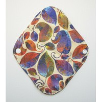 Charcoal Panty Liner / Light Flow Pad - Leaves