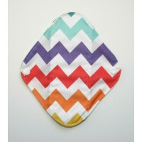 Charcoal Panty Liner / Light Flow Pad - Rainbows