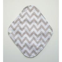 Charcoal Panty Liner / Light Flow Pad - Zig Zag