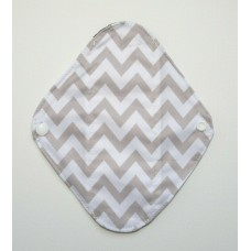 Charcoal Panty Liner / Light Flow Pad - Zig Zag