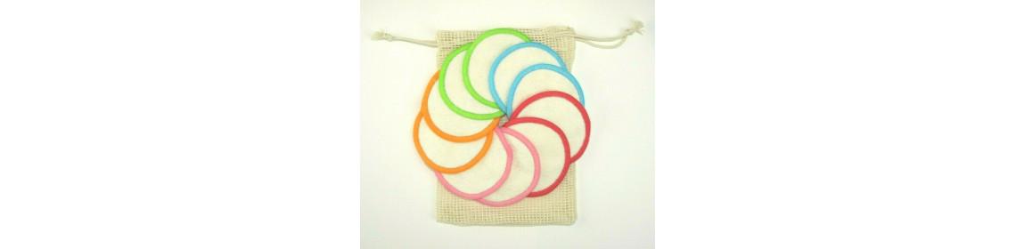 rainbow facial pads