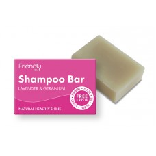 Friendly Soap Shampoo Bar - Lavender & Geranium