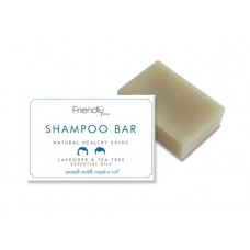 Friendly Soap Shampoo Bar - Lavender & Tea Tree