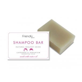 Friendly Soap Shampoo Bar - Lavender & Geranium