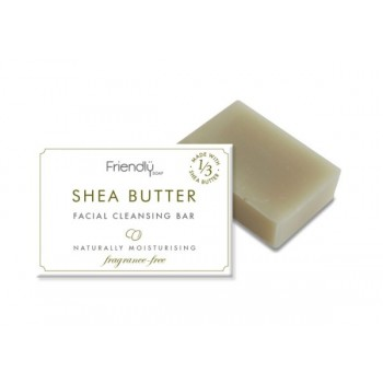 Friendly Soap - Shea Butter Facial Cleansing Bar Soap - Cloth Mama