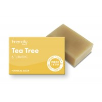 Friendly Soap - Tea Tree & Turmeric Soap
