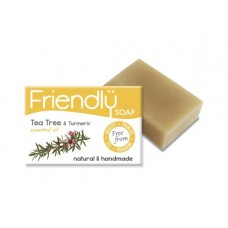 Friendly Soap - Tea Tree & Turmeric Soap