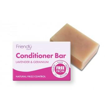 Friendly Soap Conditioner Bar – Lavender & Geranium