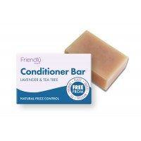 Friendly Soap Conditioner Bar – Lavender & Tea Tree
