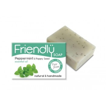 Friendly Soap - Peppermint & Poppy Seeds Soap