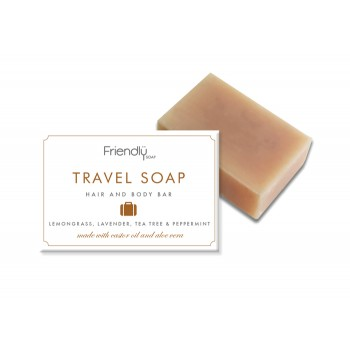Friendly Soap Travel Soap - Hair and Body Bar