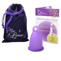 Me Luna Classic Menstrual Cup - Ring Stem - Large