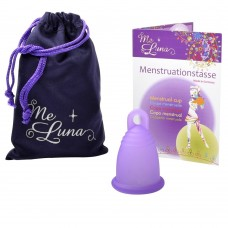 Me Luna Classic Menstrual Cup - Ring Stem - Small