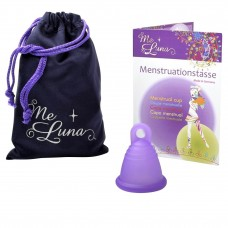 Me Luna Shorty Menstrual Cup - Ring Stem - Small