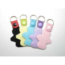 Pretty Period Key Ring