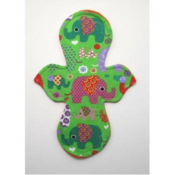Pretty Period Regular Flow Pad - Elephants Pretty Period Regular Flow Pads - Cloth Mama