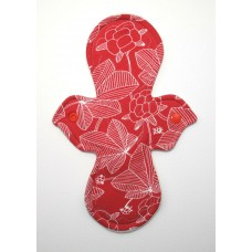 Pretty Period Regular Flow Pad - Raspberry Red
