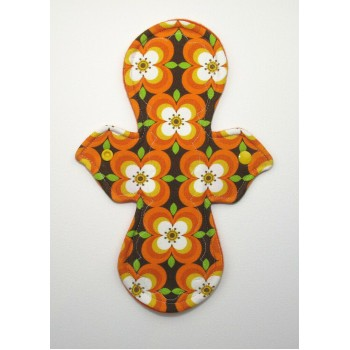 Pretty Period Regular Flow Pad - Retro Print