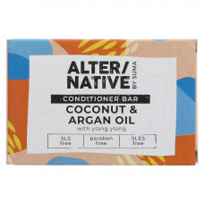 Alternative By Suma Hair Conditioner Bar - Coconut & Argan Oil