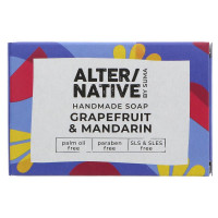 Alternative By Suma Handmade Soap - Grapefruit and Mandarin