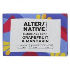 Alternative By Suma Handmade Soap - Grapefruit and Mandarin