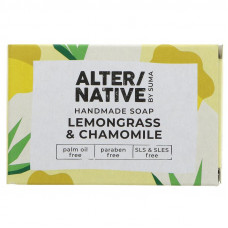 Alternative By Suma Handmade Soap - Lemongrass & Chamomile