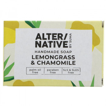 Alternative By Suma Handmade Soap - Lemongrass & Chamomile