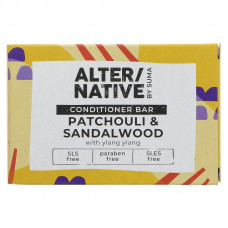 Alternative By Suma Hair Conditioner Bar - Patchouli & Sandalwood