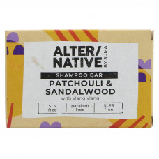 Alter/native By Suma Shampoo Bar - Patchouli & Sandalwood