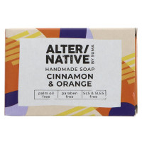 Alternative By Suma Handmade Soap - Cinnamon & Orange