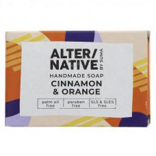 Alternative By Suma Handmade Soap - Cinnamon & Orange