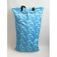 Extra Large Wet Bag - Dolphins