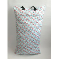 Extra Large Wet Bag - Flamingos