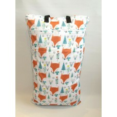 Extra Large Wet Bag - Foxes